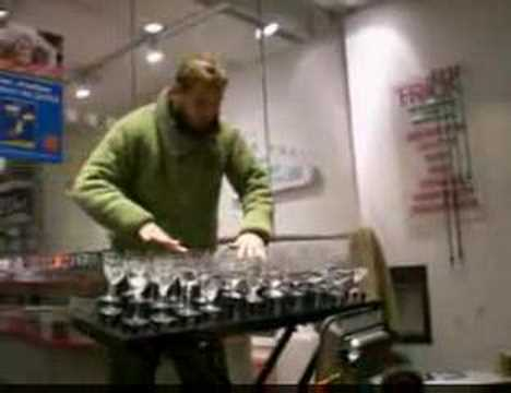 Glass Music Glass Harp