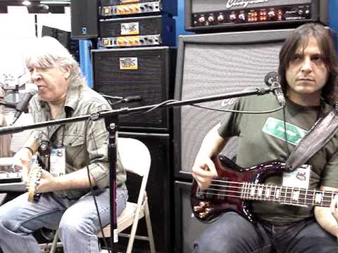 Little Wing - Godfrey Townsend and John Montagna with Cicognani Amps at NAMM 2010