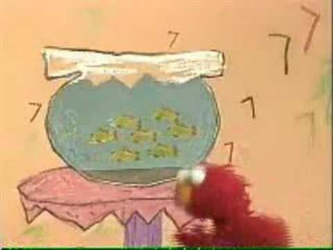 Sesame Street - Seven Goldfish