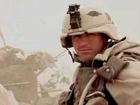 Medal of Honor Hero (SFC Paul Ray Smith) SALUTING SERVICE IN IRAQ