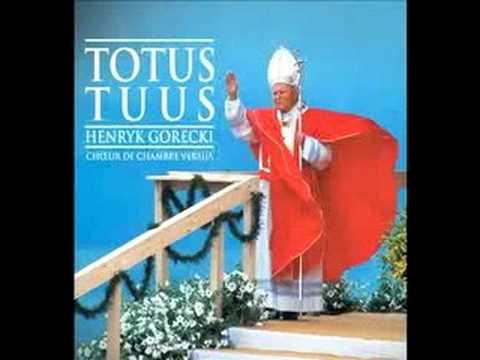 Agnus Dei Pope John Paul II Totus Tuus