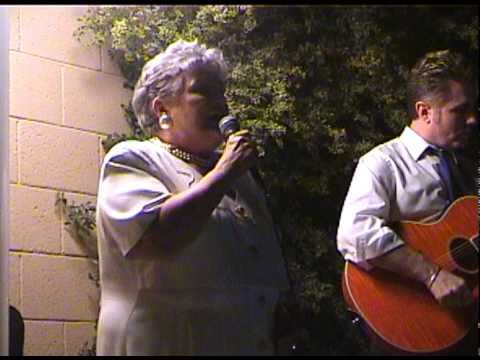 "Grandma Sings ""On A Clear Day (You Can See Forever)"" [Barbara Streisand] At A Wedding Party"