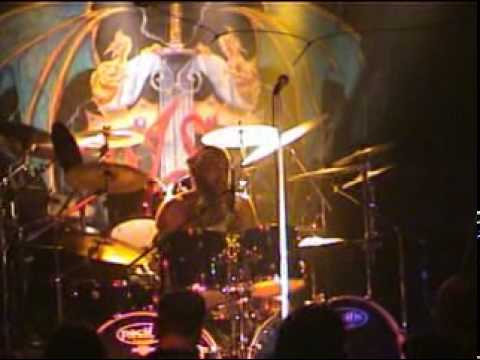Gothic knights with Kennie Poole on drums.- Power and The Glory.mpg