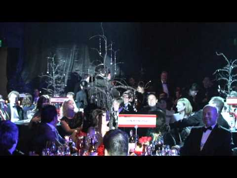 "Elvis Presley Performs ""Blue Christmas"" At The 2010 AmCham Vietnam Ball"