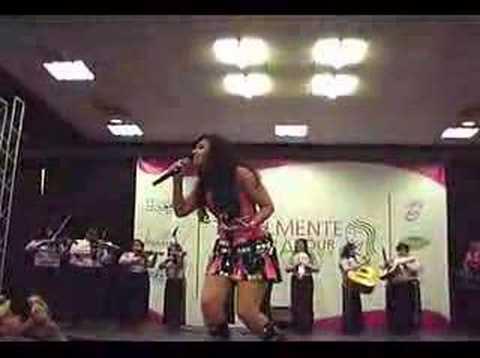Mariachi Rosas Divinas with Graciela Beltran Me Gustas Mucho
