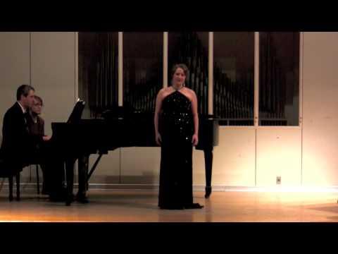 Anakreons Grab from G�ethe Lieder by Hugo Wolf - Nicole Yazolino, soprano