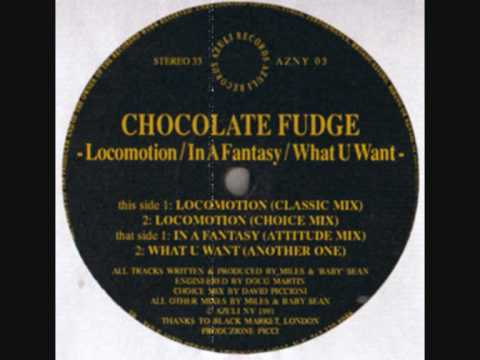 Chocolate Fudge - Locomotion (Classic Mix) 1991
