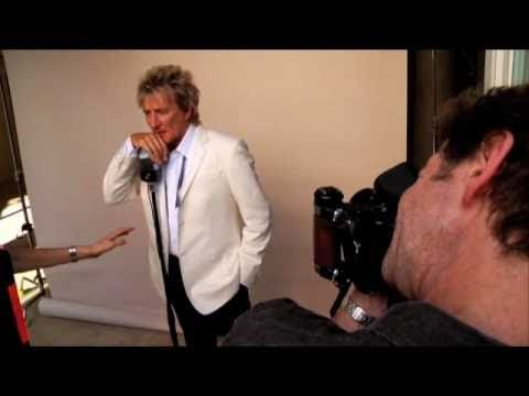 Rod Stewart - Behind The Scenes Photoshoot for Fly Me To The Moon (Out 10/19)