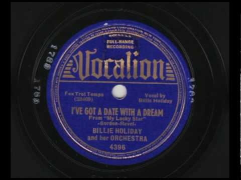 Billie Holiday & Her Orchestra - I`ve Got A Date With A Dream - Vocalion 4396