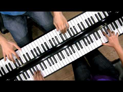 LOW RES: Mozart`s SONATA for TWO PIANOS - Anderson & Roe
