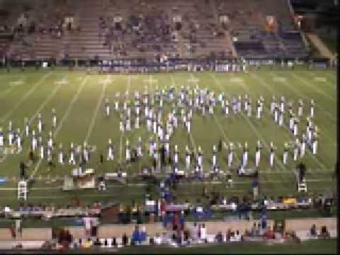 Boswell Band of Gold 2008 at Abilene-Cooper Football Game