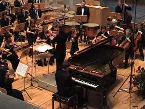 Grieg Piano Concerto, 1st Movement, Pawel Mazurkiewicz