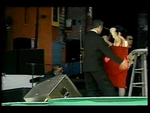 Julio Iglesias Guillermina Quiroga Roberto la cumparsita Brasil 1999 en vivo live