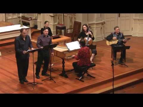 The Two Tenors: Zefiro Torna of Claudio Monteverdi, Voices of Music