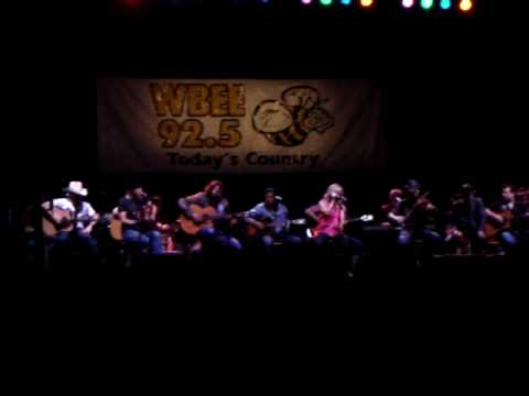 Jamey Johnson w/Lee Ann Womack- Give It Away - Rochester, NY 4/15/09