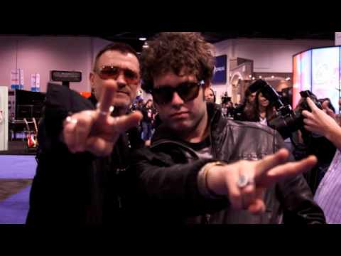 Rock Stars Celebrities Newest Music Equipment NAMM 2010 Get Ready 2011