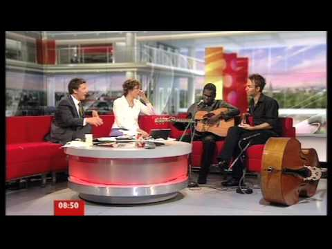 Gurrumul on BBC Breakfast