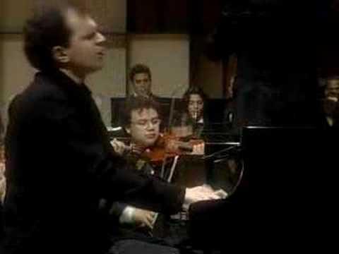 J. Brahms Piano Concerto in D minor-Gerstein, Dudamel-pt.1