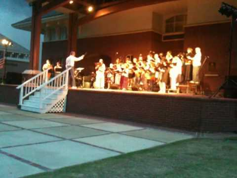 GSO Chorus performing Mamma Mia medley as arranged by Mac Huff