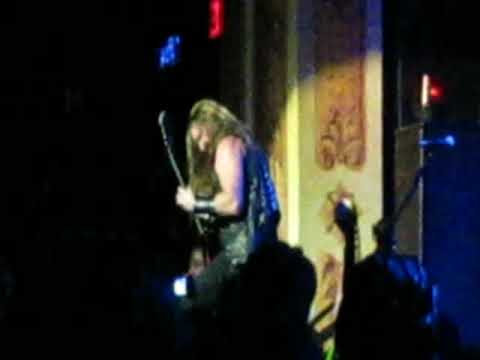 Zakk Wylde Solo Electric Hellfire Halloween Bash w/ Graveyard Disciple 2009