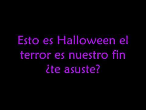 El extra�o mundo de Jack ~Esto es Halloween~[Con letra]