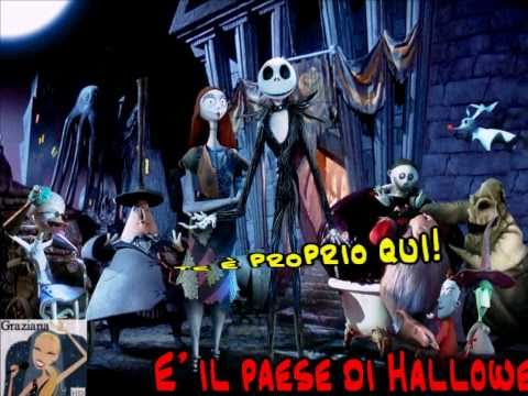 LA BALLATA DELLE ZUCCHE karaoke R.Zero da The Nightmare Before Christmas