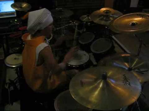 Flo-Rida- LOW (Drum Cover) Halloween Party