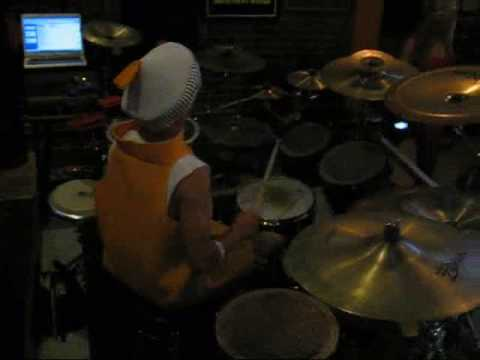 Lil Wayne- Lollipop (Drum Cover) Halloween Party