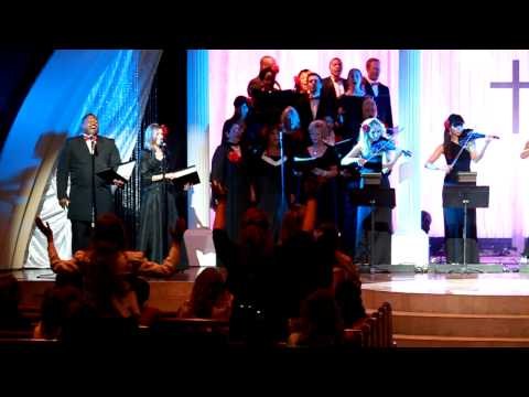 "Handel`s ""Messiah"" by LWBC Choir & Phat Strad - Easter Sunday 2011"