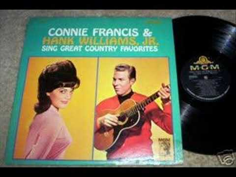 Hank Williams Jr & Connie Francis - Send Me The Pillow