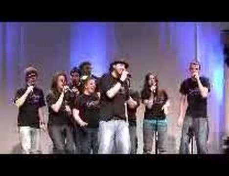 "CMU`s Central Harmony sings ""Galileo"" A cappella"