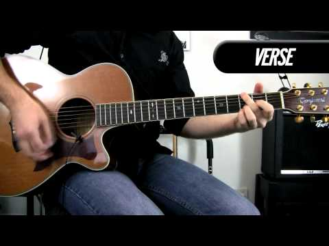 How to play `Cats In the Cradle` on guitar (for beginners) Harry Chapin / Ugly Kid Joe