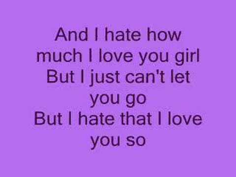Hate that i love you *lyrics*