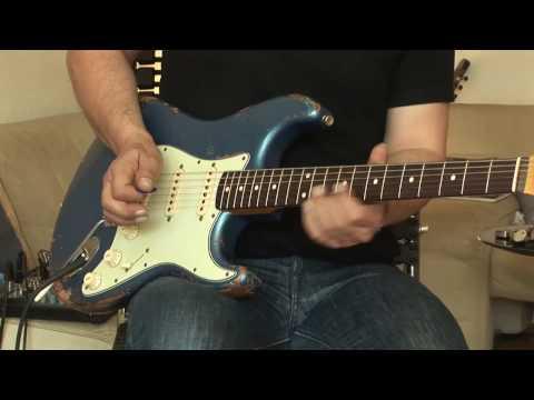2009 Fender Relic Strat with Okko Diablo & Brunetti Mercury Box