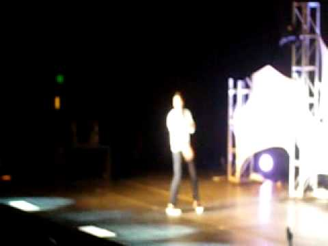 Sam Milby - And I Love You So (live) - heartthrobs US tour - sjsu event center - 3/27/10
