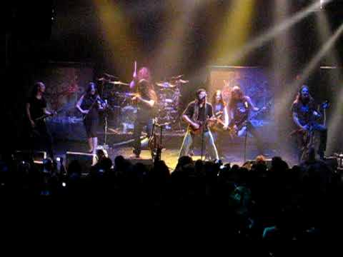 ELuveitie - Your Gaulish War (Live @ The Gramercy Theatre NYC/ Heathenfest 2009 USA)