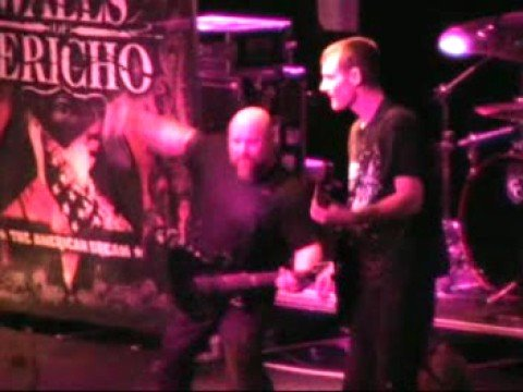 WALLS OF JERICHO - live in Milano, Italy -Hell On Earth 2008
