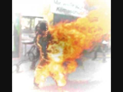 "THE UNRAVELLING - ""Fire Breather"" Tibetan monks protest Chinese"