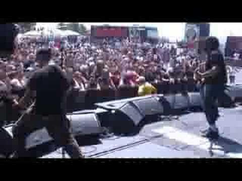 Hemlock at The Rockstar Mayhem Fest in Pittsburgh PA,