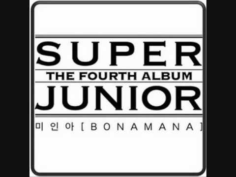 [ROM LYRICS] Super Junior - Miina (Bonamana)