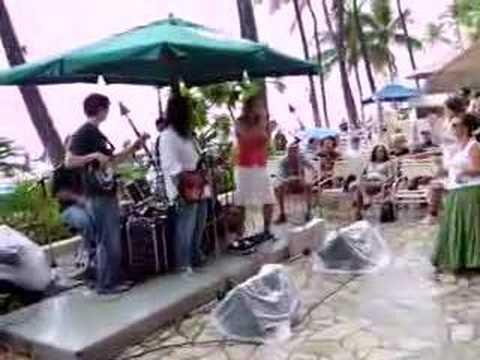 "Erica Sunshine Lee w/ Henry Kapono ""Learning the Hard Way"" Honolulu, Hawaii"