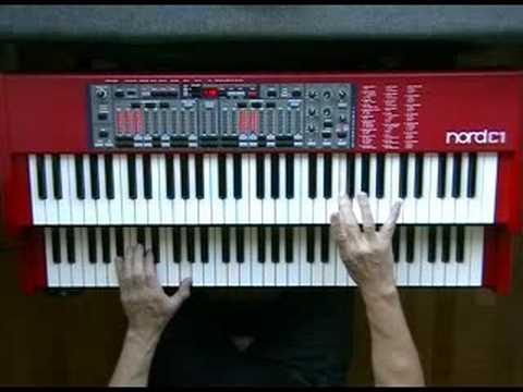 Baby Elephant Walk (Henry Mancini) Hatari - Nord C1 Hammond B-3 Clonewheel Organ Clavia
