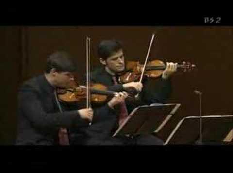 Henschel Quartet Live in Tokyo - Brahms Quintet 4