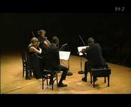 Henschel Quartet live in Tokyo - Janacek Kreutzersonata 2
