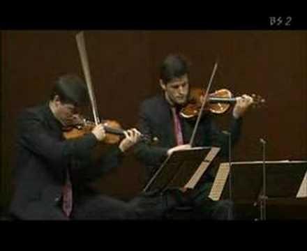 Henschel Quartet live in Tokyo - Janacek Kreutzersonata 4