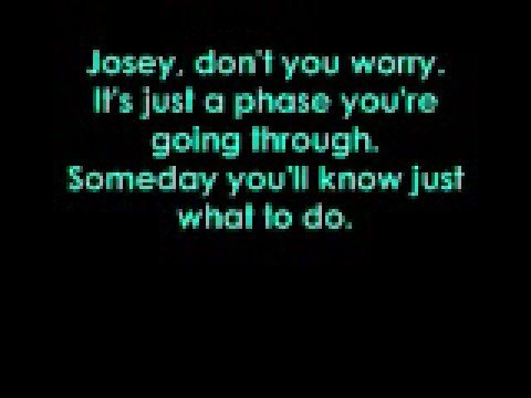 Josey - Hey Monday with lyrics