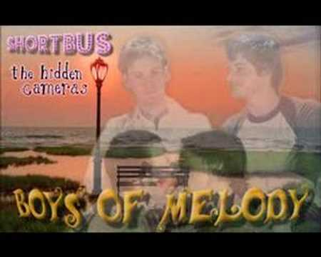 The hidden cameras - Boys of melody
