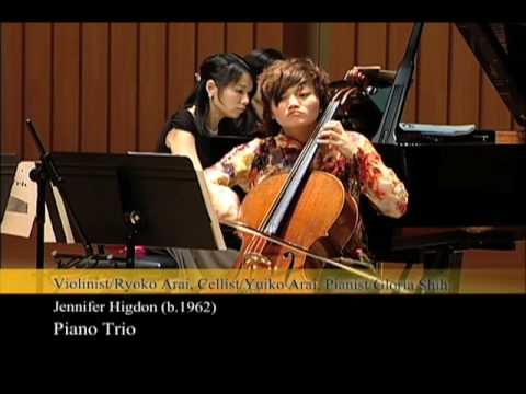 Gracieux Trio / Jennifer Higdon: Piano Trio/II. Fiery Red ??