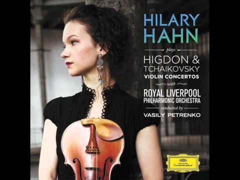 Jennifer Higdon Violin Concerto. lll - Fly Forward (Hilary Hahn).wmv