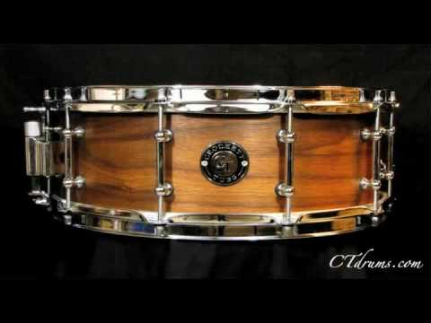 "Crockett Tubs 5.5x14"" solid walnut snare"